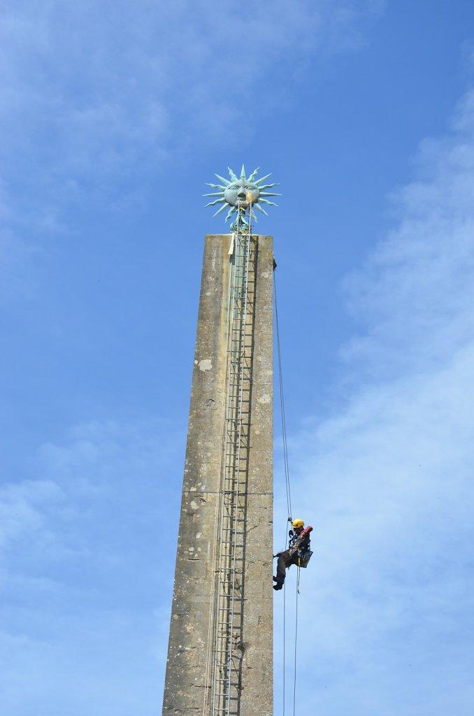 Stourhead Obelisk 2017