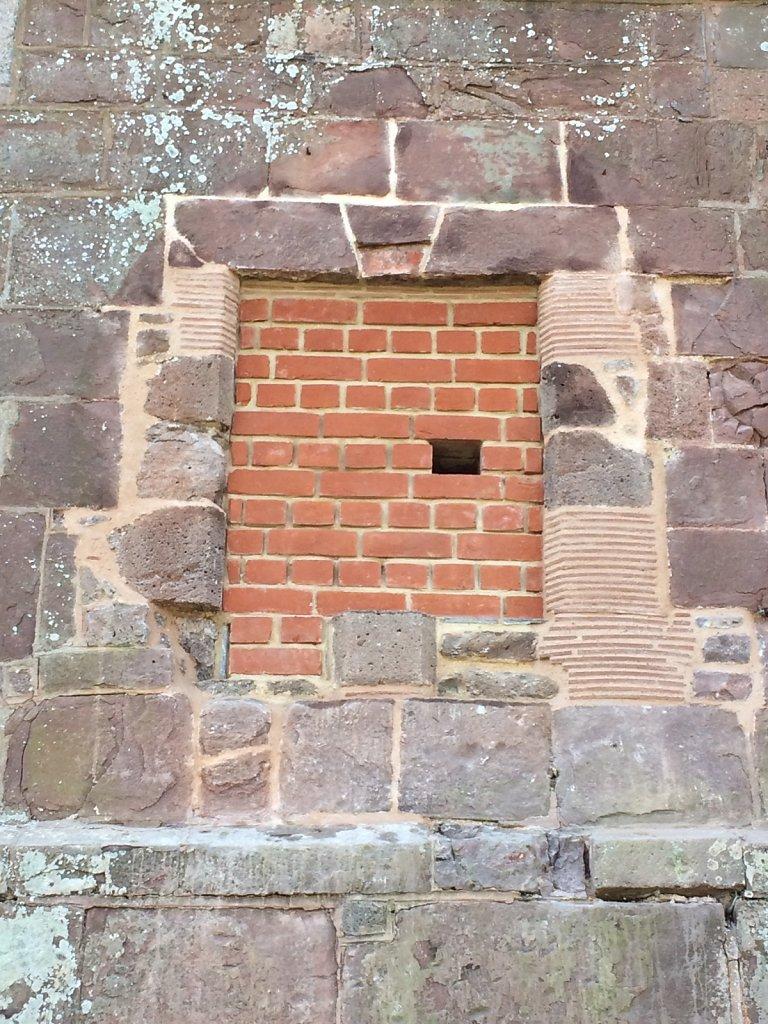 Brickwork and tile repairs complete